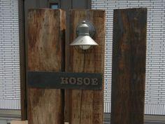 アイアン表札 Home Signs, Bottle Opener, Signage, Barware, Entrance, Exterior, Patio, Wall, House