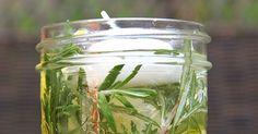 Mason Jar Luminaries Are a Beautiful Bug Repellent