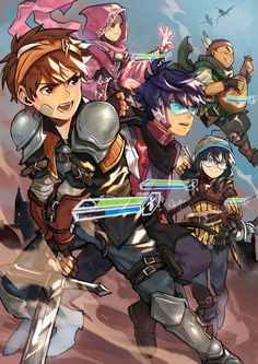 """""""old art for last year's zine"""" Boboiboy Anime, Cartoon As Anime, Anime Guys, Anime Art, Naruto Akatsuki Funny, Boboiboy Galaxy, D&d Dungeons And Dragons, Best Friends Forever, Old Art"""