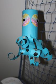 Kids Love Craft: Under the sea theme- moppets