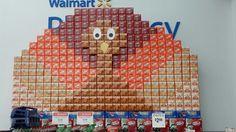 Thanksgiving Coke display in Walmart  b3fafb981
