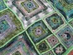 Babette blanket - green