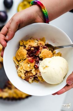 User's Blog! – kuchařské inspirace z celého světa Plum Cake, Cobbler, Ice Cream, Recipes, Food, Cakes, Prune Cake, No Churn Ice Cream, Cake Makers