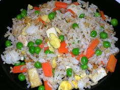 Homemade-fried-rice--meatless meals