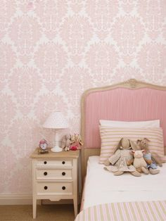 Damask Wallpaper | Damask Fabric | Damask Pattern | Designer Damask wall coverings by simple shapes