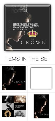 """""""Group Relaunch Announcement + Icon    The Crown"""" by general-sux ❤ liked on Polyvore featuring art"""