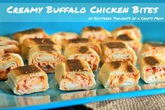 Creamy Buffalo Chicken Bites with Sweet Baby Ray's Buffalo Sauce