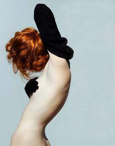 Nuyra K. by Alexey Sorokin redhead Nude Photography, Fashion Photography, Photography Gloves, Gorgeous Redhead, Beautiful, Redhead Girl, Portraits, Photoshop, Tutorials