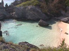 Bermuda! What a lovely place. This was Port Royal Bay, part of Horseshoe bay. Very private area..beautiful water..serenity.