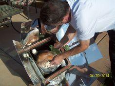 Turkey in the sun oven Washington, Utah-  Easter April 2014