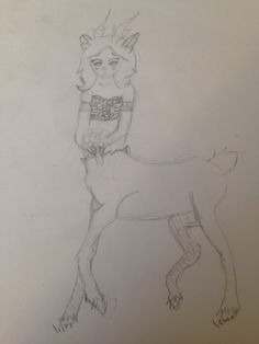 WIP of my OC Fawn. Not done yet.