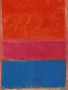 Rothko No.1 Royal Red and Blue - Mark Rothko painting crowns New York art sale (November 2012)