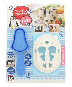 Another great find on #zulily! Penguin Rice Mold Bento Kit #zulilyfinds