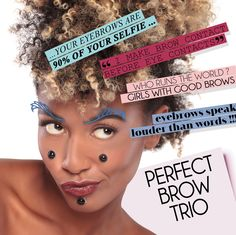 MIYO PERFECT BROW TRIO  All you need is PERFECT BROW TRIO! PERFECT BROW TRIO provides everything you need to perfectly style your eyebrows in one complete set. Powder eyeshadows in two ideally matched shades give your eyebrows a very natural look, while soft and delicate perfecting/setting wax helps to keep the perfect shape of your eyebrows. Set off the shape of your eyebrows!