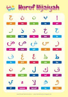 Gratis Printable Favorit : Mewarnai Huruf Hijaiyah Vol. Learn Quran, Learn Islam, Moslem, Learn Arabic Online, Arabic Alphabet For Kids, Flashcards For Kids, Islam For Kids, Arabic Phrases, Learning Arabic