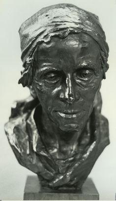 """Mattress Maker"", 1928, Malvina Hoffman, American (1885-1966), bronze, 15 x in. Gift of Cordelia Penn Cannon, 1976. 1976.2315"
