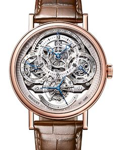 Breguet Classique Complications 3795BR/1E/9WU Case in 18-carat rose gold with a finely fluted caseband. Sapphire caseback. 41 mm diameter. Welded lugs with screw bars. Water-resistant to 3 bar (30m). Street Price of $150K plus!