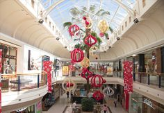 Christmas Decorations | designed and installed by Chas Clarkson Capricorn Stages And Rigging