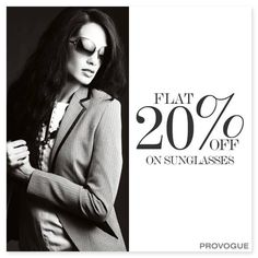 Do you consider sunglasses as an important fashion accessory?  Instant buying – www.provogue.com ‪#‎sale‬