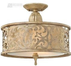 Buy the Fredrick Ramond Brushed Champagne Direct. Shop for the Fredrick Ramond Brushed Champagne 2 Light Semi-Flush Ceiling Fixture from the Carabel Collection and save. Semi Flush Ceiling Lights, Flush Mount Ceiling, Flush Mount Lighting, Ceiling Light Fixtures, Ceiling Lighting, Hall Lighting, Bedroom Lighting, Pendant Lighting, Hinkley Lighting