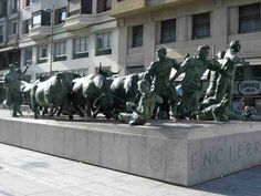 Monumento al encierro. Bull running. Pamplona Pamplona Spain, Renta, Countries Of The World, Homeland, Us Travel, Places Ive Been, To Go, Country, Medium