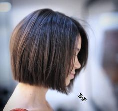 Chin length cut by Buddy Porter More