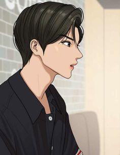 Hot Anime Boy, Anime Art Girl, Realistic Drawings, Easy Drawings, Suho, Profile Drawing, Anime Warrior, Side Profile, Handsome Anime Guys