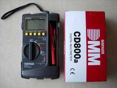 Digital Multimeter Sanwa CD800A Kami dari tokootomotif ingin menawarkan produk kami yaitu Digital Multimeter Sanwa CD800A. Alat ukur listrik yang sering dipakai oleh teknisi kelistrikan dengan hasil ukur yang cepat, akurat dan tidak berubah-ubah. Produk Digital Multimeter Sanwa CD800A sangat aman dipakai oleh pemula sekalipun. Digital Multimeter Sanwa CD800A ini memiliki beberapa keunggulan diantaranya adalah alat ini akan otomatis mematikan daya apabila dalam 30 menit tidak digunakan