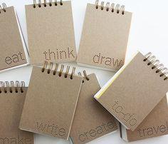 Cute notebooks ♥