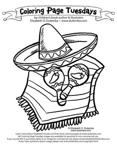 Coloring Pages Mexican Coloring 014 (Countries > Mexico ...