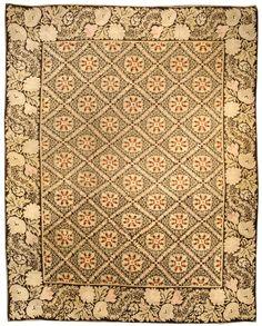 "Antique Bessarabian Rug CIRCA: 1880 Size: 13'4"" × 11'2"" (406 × 340 cm)"