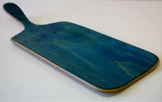 Skateboards? Yes, skateboards, recycled into great serving boards from Chubba Art and Design