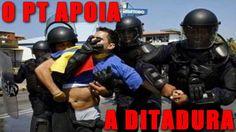 S.O.S VENEZUELA: eis o Brasil amanhã se o PT continuar no poder
