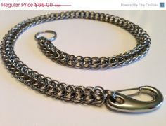 Wallet Chain / Key Chain Full Persian Chainmaille by ThroughTheGateGifts