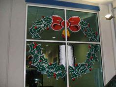 Christmas Window Painting!