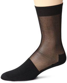 Stacy Adams Mens 2-pack Tuxedo Silky Socks, Black, Shoe Size 6-12.5 Stacy Adams. $10.00. Silky soft. Made in China. 95% nylon/3% elastic/2% lycra spandex. Silky sheer. Machine wash