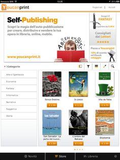 Vendi e leggi il tuo eBook con l'applicazione di Youcanprint per iPad