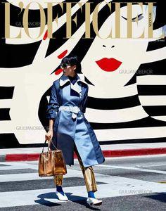 L'Officiel Magazine  Fashion Editorial  Photo Credit: Giuliano Bekor