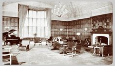 Lawyers Club Lounge at University of Michigan, constructed 1920s-1930s. http://umhistory.dc.umich.edu/mort/central/south%20of%20south%20U/Law%20Quadrangle/index.html