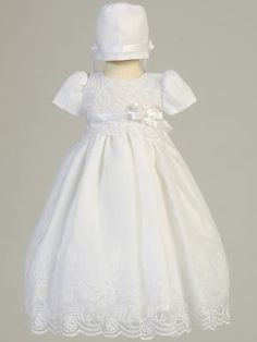 bade987557ba Candice-Embroidered Organza Dress. Baby s and Kids Boutique · Christening Baptism  Wear