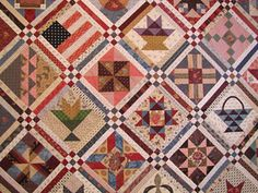 Setting ideas for quilts made from various blocks