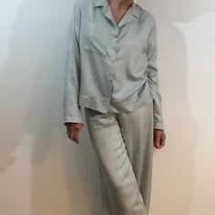 silk pyjamas from the Makers Atelier