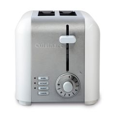 Personal Edge : Cuisinart CPT-320WC 2-Slice Compact Stainless Toaster