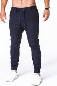 Granatowe spodnie Edoti Sweatpants, Fashion, Moda, Fashion Styles, Fashion Illustrations