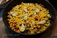 facile et beau - Gusta: Gemüsekuchen mit Rührteig