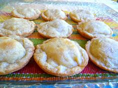 SPLENDID LOW-CARBING BY JENNIFER ELOFF: MIRACLE DOUGH MINI MEAT PIES - These are super-cute and tasty.  Great for Super Bowl even. Visit us for more tasty recipes at: facebook.com/LowCarbingAmongFriends