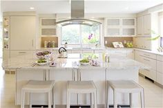 Light Contemporary Kitchen by Dawn Williams