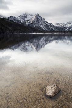 Sawtooth Mountain Lake in Idaho