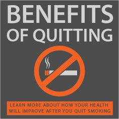 benefits of quitting infographic