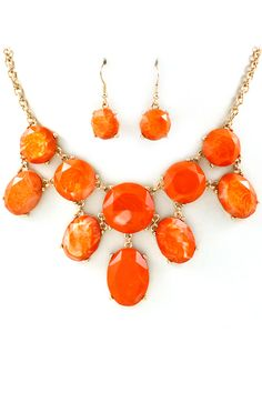 Coral Lotta Necklace Set | Emma Stine Jewelry Necklaces
